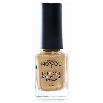 MoYou Peel Off Non Toxic Nail Polish - Fancy Jazz 11ml (MYP9)