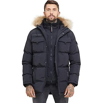 Good For Nothing Storm Double Layered Parka Jacket Black 92