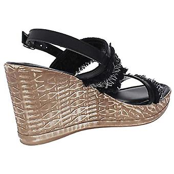 Easy Street Womens zaira Open Toe Casual Platform Sandals
