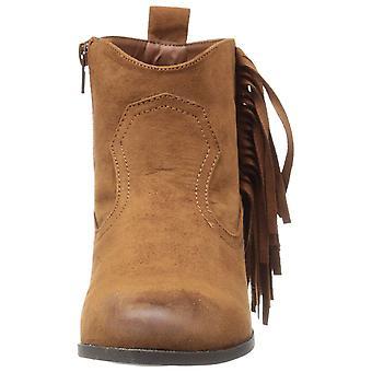 Qupid Womens Nixon-01 Closed Toe Ankle Fashion Boots