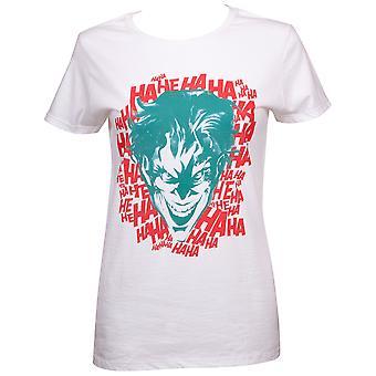 Joker HaHaHaHa Women's White T-Shirt