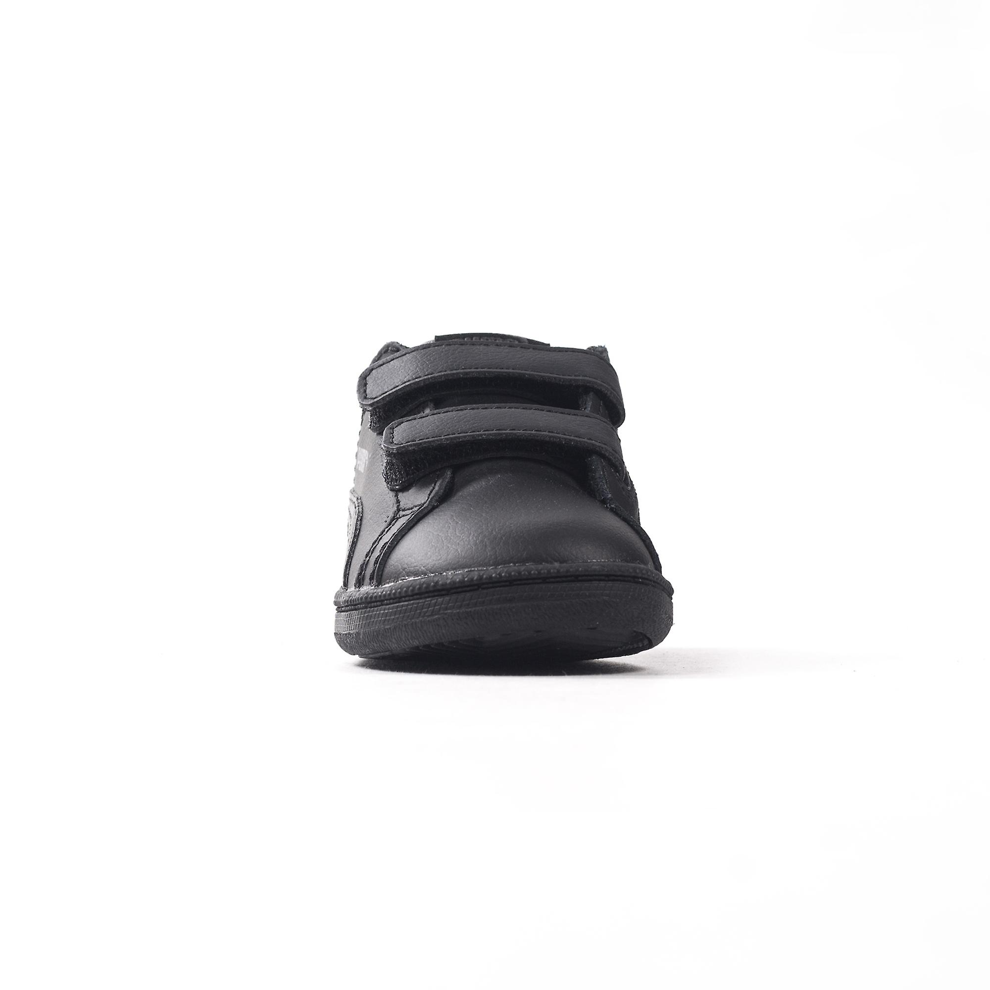Puma Smash Fun Infant Kids Nubuck Trainer Shoe Black/Black