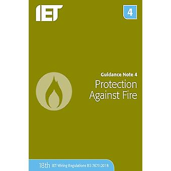 Guidance Note 4 Protection Against Fire by The Institution of Engineering and Technology