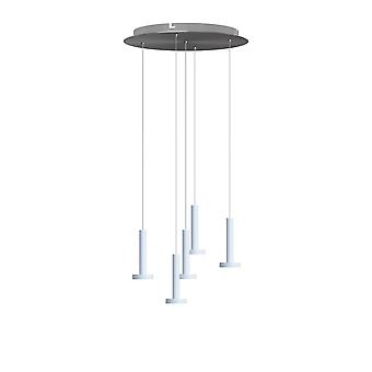Gemini 5 Mini Pendant Lighting White