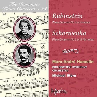 Rubinstein/Scharwenka - Rubinstein: Piano Concerto No. 4; Scharwenka: Piano Concerto No. 1 [CD] USA import