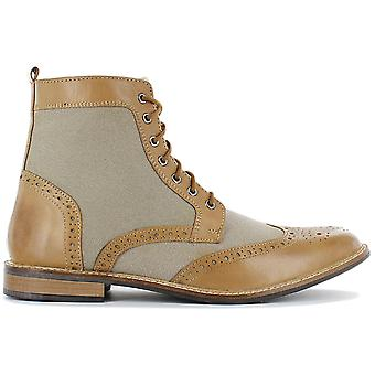 19V69 ITALIA V60-C193 Men's Business Boots Brown Sneakers Sports Shoes