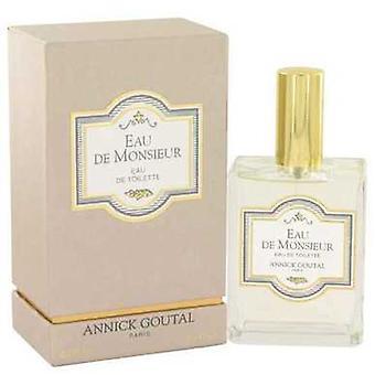 Eau De Monsieur By Annick Goutal Eau De Toilette Spray 3.4 Oz (men) V728-412555