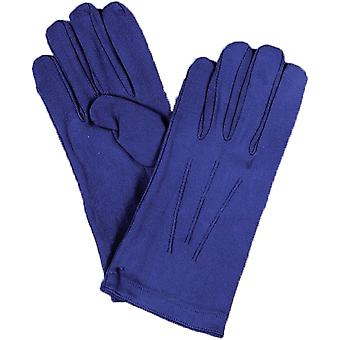 Luvas Mens Nylon azul