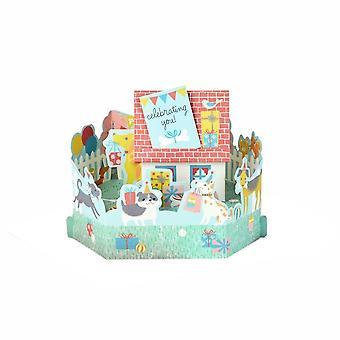 Hallmark Paper Wonder feiert Sie! 3d Pop-up-Geburtstagskarte 25522156