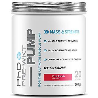 PhD Pre Workout Pump 200 gr