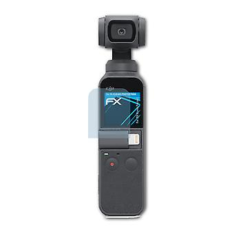 atFoliX 3x Screen chránič kompatibilný s DJI osmo Pocket Screen Protection film jasný