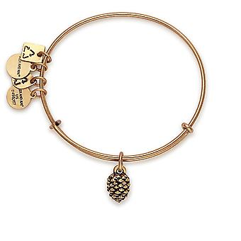 Alex și Ani Pinecone Charm Bangle - CBD17PCRG