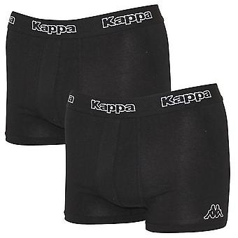 Kappa men's 2-pack boxer shorts black