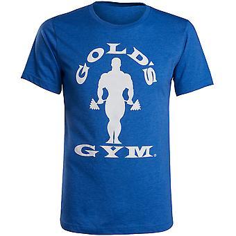 Gold's Gym Silhouette Joe T-Shirt - Blue