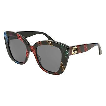 Gucci GG0327S 003 Multicolour/Grey Sunglasses