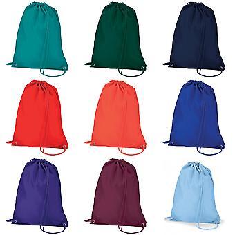 Quadra Gymsac Shoulder Carry Bag - 7 Litres (Pack of 2)