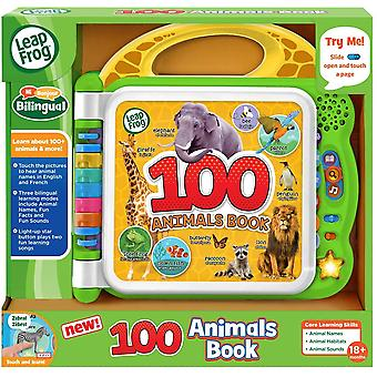 Leapfrog 100 Animals Electronic Book Learning Reading Toy