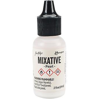 Tim Holtz Alcohol Ink Metallic Mixatives - Pearl Mixative