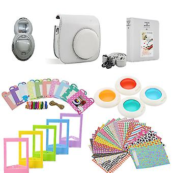 Accessory Sets for Fujifilm Instax Mini 8/9-Smokey White
