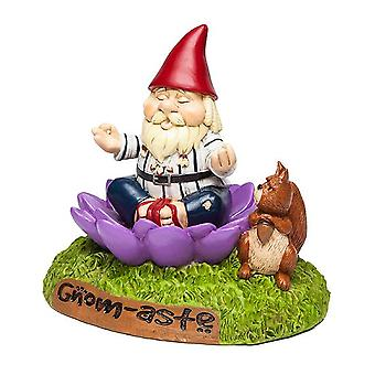 Bigmouth - the 'gnome-aste meditating garden gnome