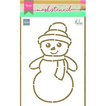 Marianne Design Stencils Snowman By Marleen Ps8018 149x210 mm