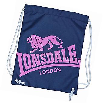 Lonsdale Unisex afgedrukt gymtas