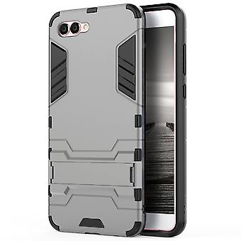 Shell for Huawei Nova 2s Space Armor Grey Hard Plastic Protection Case