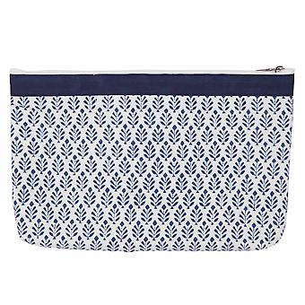Reverie: Fabric Zipped Pouch: Large