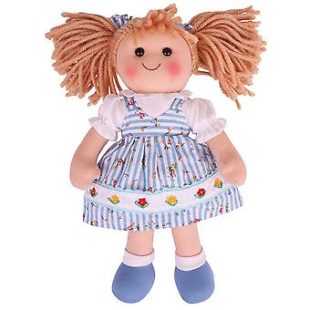 Bigjigs Toys Soft Plush Christine (34cm) Rag Doll Cuddly Toy