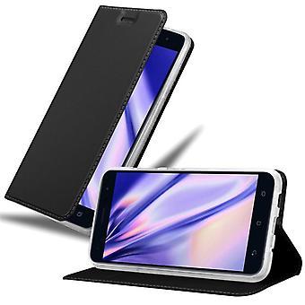 Cadorabo Hülle für Asus ZenFone 3 hülle case cover - Handyhülle mit Magnetverschluss, Standfunktion und Kartenfach – Case Cover Schutzhülle Etui Tasche Book Klapp Style