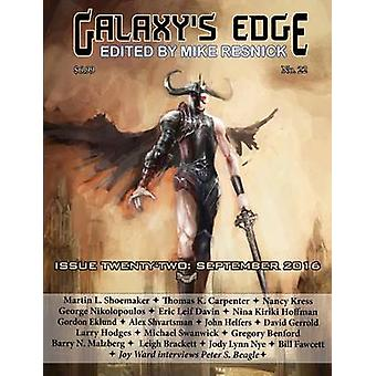 Galaxys Edge Magazine Issue 22 September 2016 by Resnick & Mike