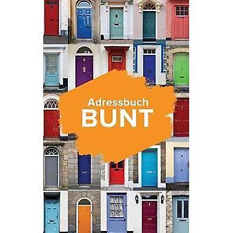 Adressbuch Bunt by Us & Journals R