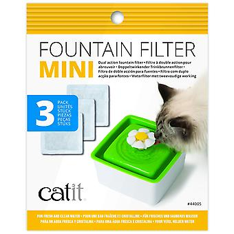 Catit Mini Fountain Filters  3 Pack (Cats , Bowls, Dispensers & Containers , Bowls)