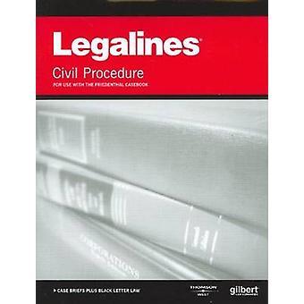 Legalines on Civil Procedure - Keyed to Friedenthal par Academic West
