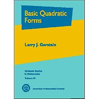 Basic Quadratic Forms - 9780821844656 Book