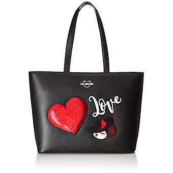 אהבה שקית מושלנו התיק (שחור) 30x12x43 ס מ (W x H x L) (1)