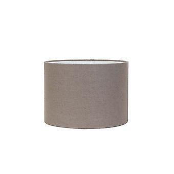 Licht & Living Zylinder Schatten 30x30x21cm Livigno Leber