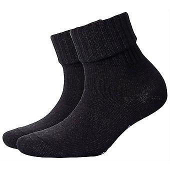 Burlington Plymouth Socks - Anthra Grey Melange