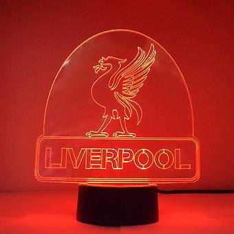 利物浦城市名称改变 LED 丙烯酸灯的利鸟