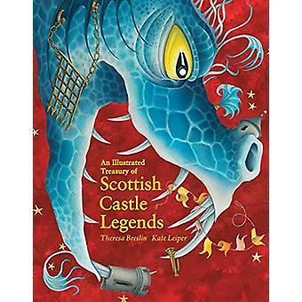 Kuvitettu valtiovarainministeriö Skotlannin Castle Legends theresa Breslin