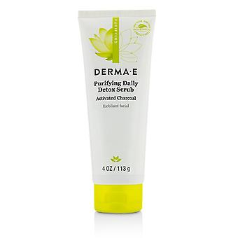 Derma E Purifying Daily Detox skrubba 113g / 4oz