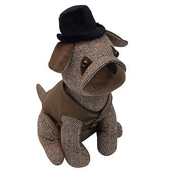 Malini Dog Bowler Hat Door Stop