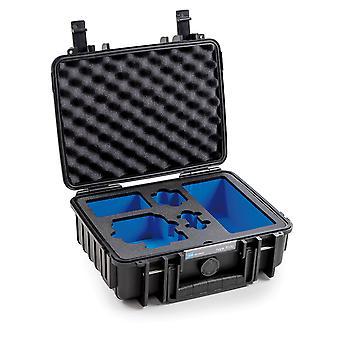 B&W GoPro Case Typ 1000 für GoPro Hero 8, Schwarz Mit Schaumstoffeinsatz