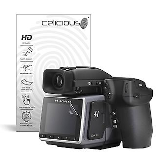 Celicious Vivid Invisible Glossy HD Screen Protector Film Compatible with Hasselblad H6D-400c MS [Pack of 2]