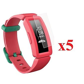 for Fitbit Ace 2 Kids 5x Screen Protector Film Cover for Smart Watch