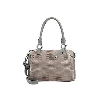 Fritzi aus Preussen ILONA Grey Woman handbag (Grey (Basalt 15/Eagle)) 13.5x25x34 cm (B x H x T)