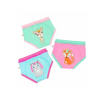 ENSEMBLE de pantalons de formation zooCCHINI 3 pièces Organic Cotton Potty