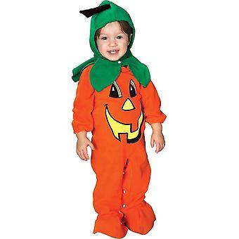 Orange Pumpkin Infant Costume
