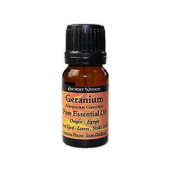 Geranium Essential Oil 10 ml or 0.34 fl oz