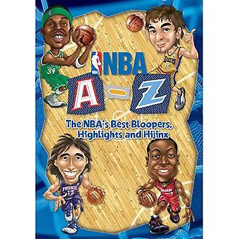 NBA a-Z: The NBA's Best Bloppers Highlights & Hiji [DVD] USA import
